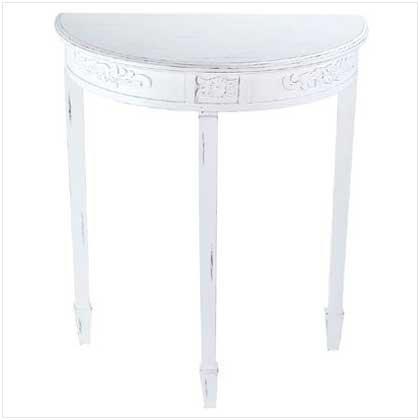 #33130 Half-Moon Hall Table