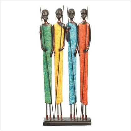 #35615 African Village Women Figurine