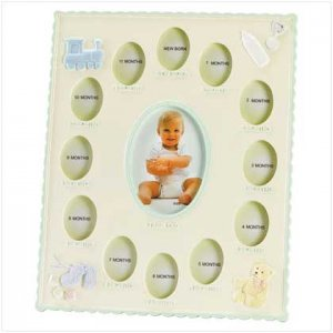 """#34147 """"Baby's First Year"""" Frame"""
