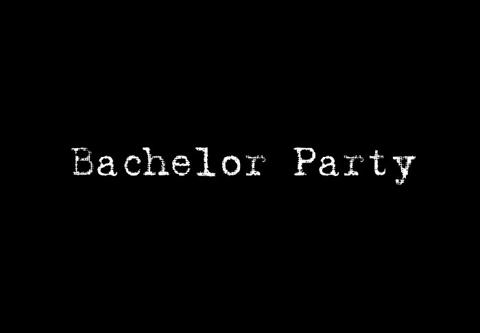 Bachelor Party - Style 1