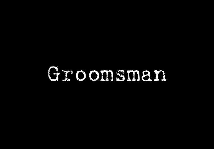 Groomsman - Style 1