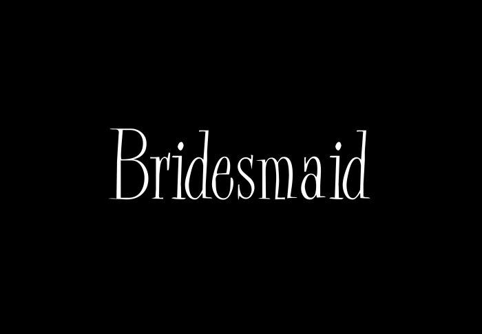 Bridesmaid - Style 2