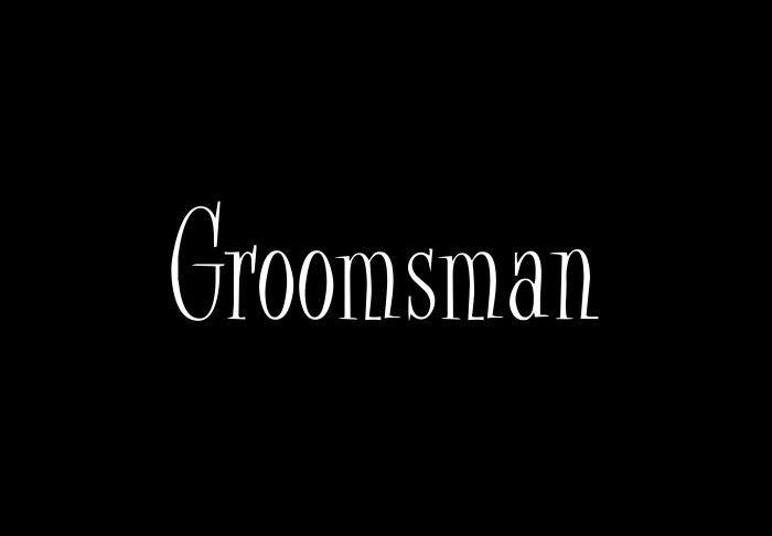 Groomsman - Style 2