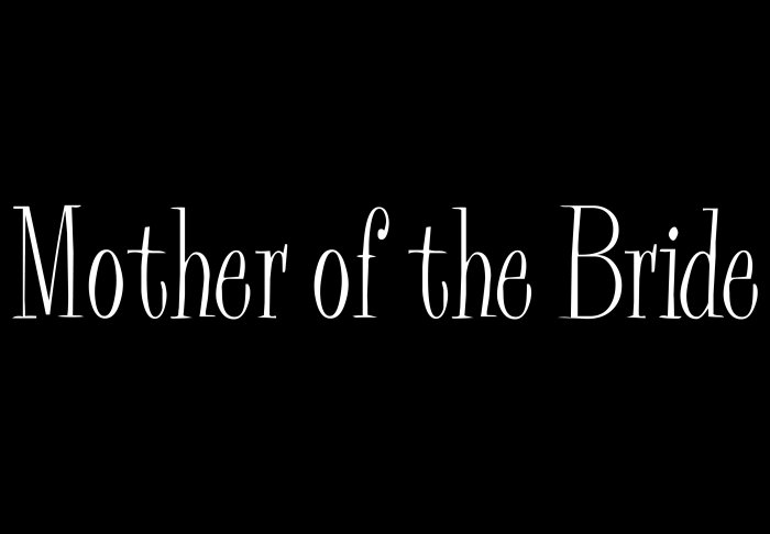 Mother of the Bride - Style 2