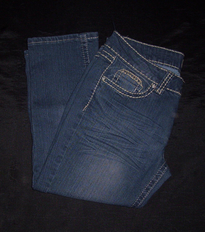 Prestige Pledge Blue Jean Capris- Size 9/10