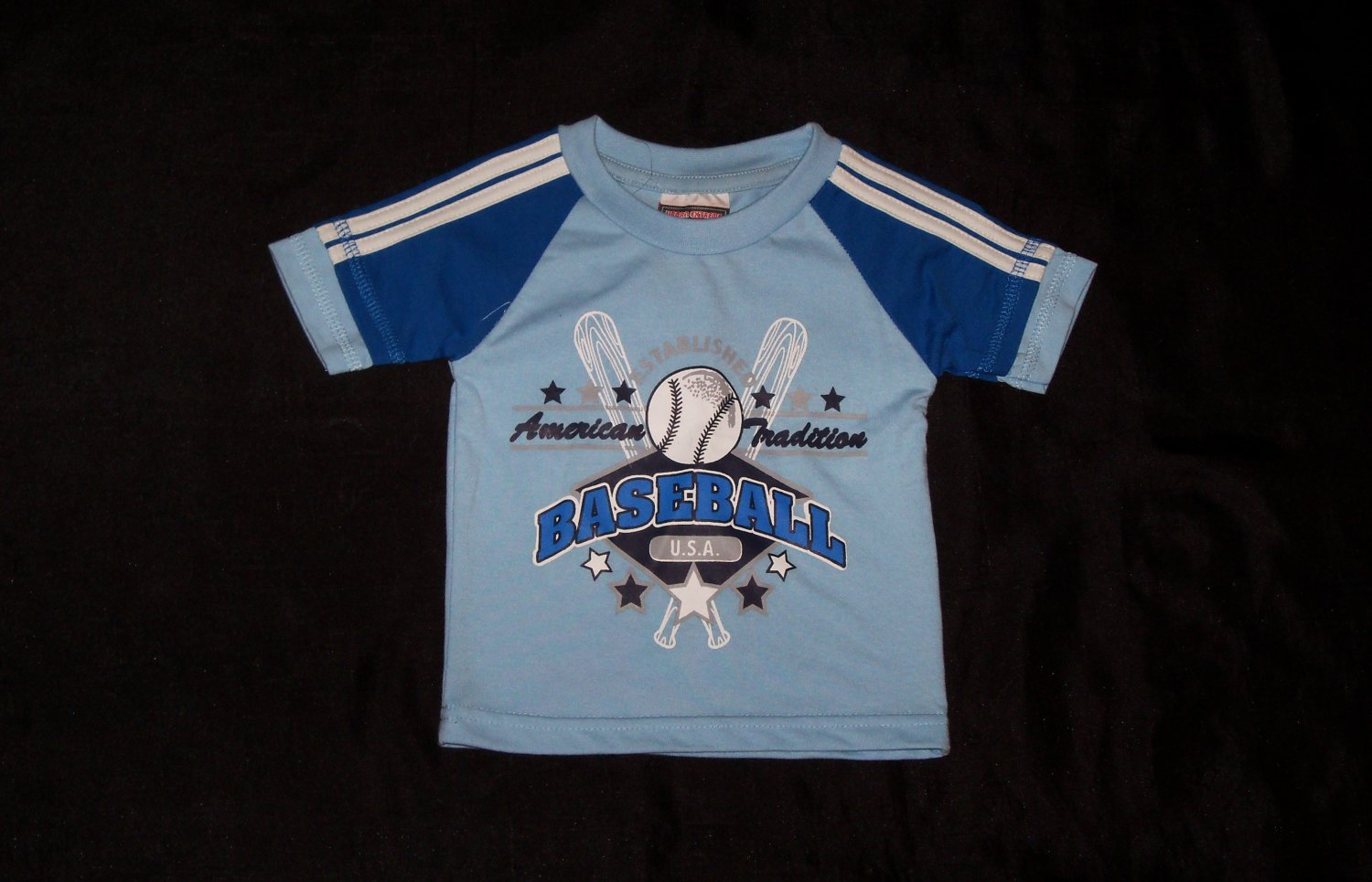 Urban Extreme Blue Baseball Outfit- Size 12 months