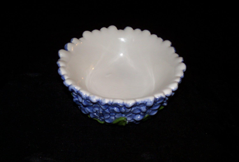 Blue Flower Home Decor Bowl- 2 piece set