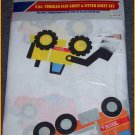 TONKA TRUCKS 2 PC TODDLER FLAT & FITTED SHEET SET