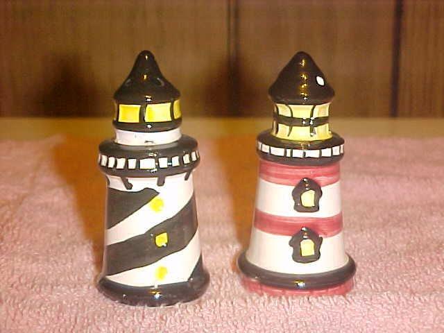 Lighthouse Salt and Pepper Set