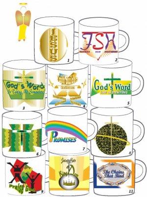 Christian Mug Transfers Gifts