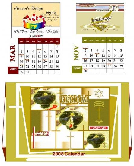 2008 Christian Calendar