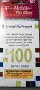 TMobile T-Mobile To Go $100 Prepaid