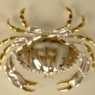 Atlantic Crab Slide Pin Pendant