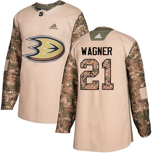 info for a3587 03532 Chris Wagner Men's Anaheim Ducks Authentic Veterans Day Camo ...