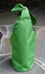 Fine Whines Bow Bag - LIME GREEN