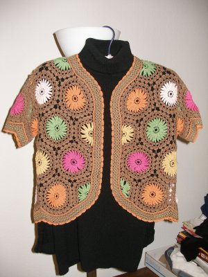 Hand crocheted top