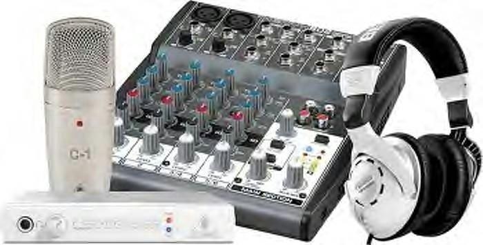 Behringer Xenyx 802 Mixer Pack