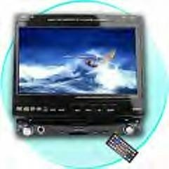 CVEZJ-6713DB  Large Screen Bluetooth Car DVD Player