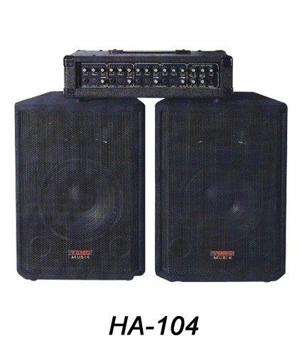 HA-104  PA Mixer