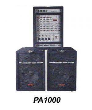PA1000  PA Mixer