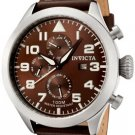 Invicta Men's Invicta II Brown Dial Brown Calf Leather