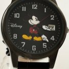 "Men's ""Black Mickey Mouse Watch"