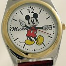 Men's Mickey Mouse Watch Gold & Silver