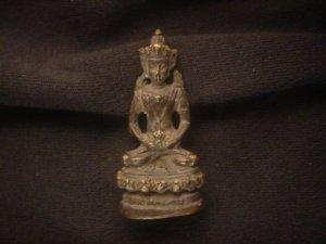 Remarkable Tibetab Bronze *Buddha* Little Statue