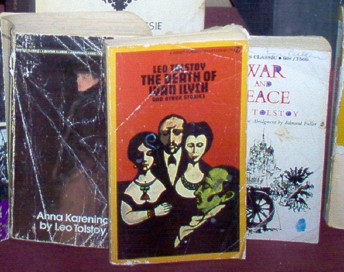 Leo Tolstoy Books, Set of 3