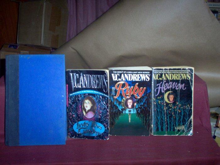 V. C. Andrews Books, Set of 4