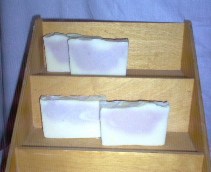 Handmade Cucumber Melon Fruit Slices CP Pioneer Lye Soap Bath Bar by The Village Craftsmith