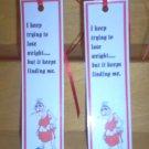 Handmade Bookmark Weight Joke by The Village Craftsmith
