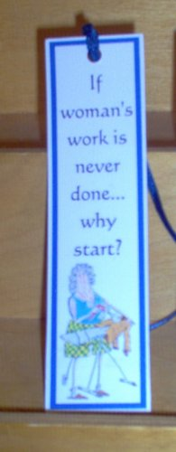 Handmade Bookmark Womans Work by The Village Craftsmith