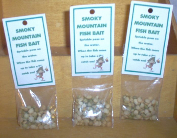Smoky Mountain Hillbilly Fish Bait Gag Gift by The Village Craftsmith