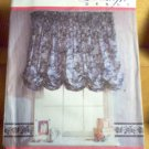 No Sew Window Treatments or Curtains Design Debut Sewing Pattern Unused