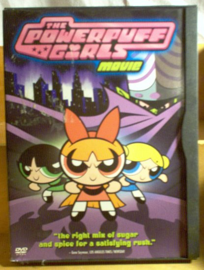 The Powerpuff Girls Movie DVD