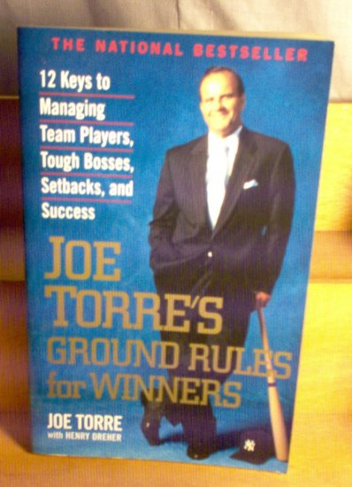 Joe Torre's Ground Rules for Winners Large Paperback Book