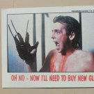 Topps #33 / A Nightmare On Elm Street / Trading Card