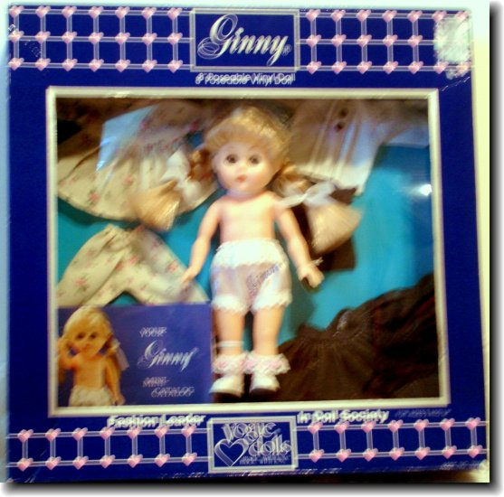 Ginny Vintage Vogue Doll MIB