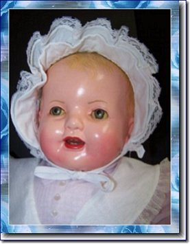 Collectible Mama Doll An Adorable Chubby Vintage 1920's to 1930's Baby