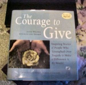 Courage to Give by Jackie Waldman