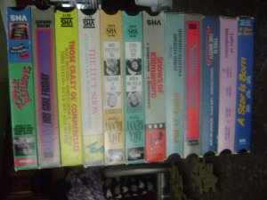lot of 12 vhs tapes used mint condition