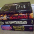 lot of 4 stepphen king books hardcover