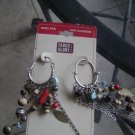 faded glory earings nwt