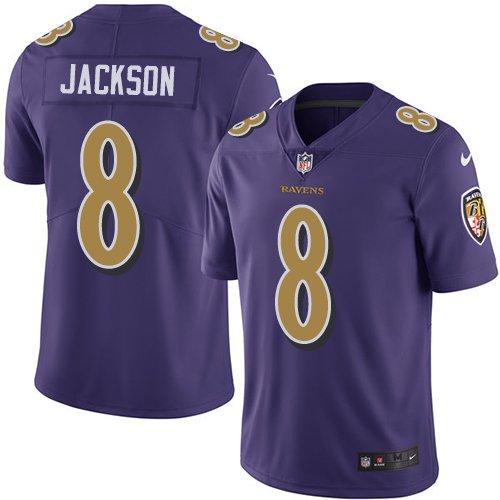 fd9c1c9d94d Youth Baltimore Ravens Lamar Jackson Purple Game Jersey