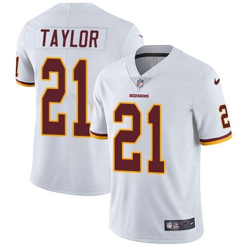 Men\'s Washington Redskins Sean Taylor White Game Jersey  for cheap bi5imGst