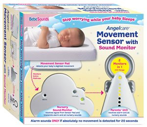 Bebe Sounds Movement Sensor With  Sound Monitor