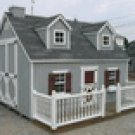 CHILDS CAPE COD PLAY HOUSE WITH PORCH
