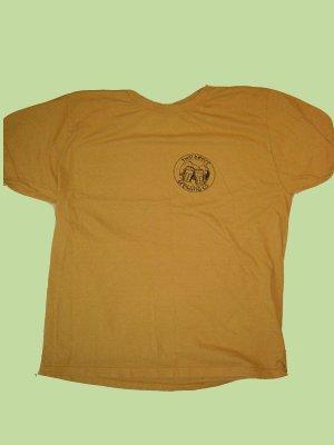 Women's Logo Cotton T-Shirt (Yellow, Small)