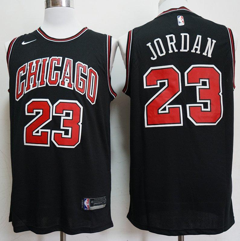 meet 6f2d0 34d71 Men's Michael jordan 2019 bulls jersey black